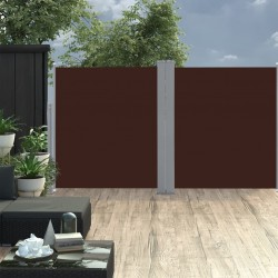stradeXL Retractable Side Awning 170x600 cm Brown
