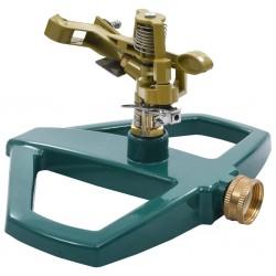 stradeXL Rotary Sprinkler Green 21x22x13 cm Metal
