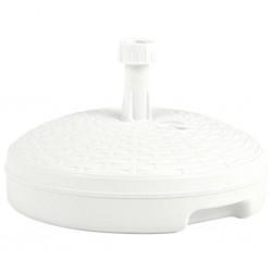 stradeXL Umbrella Base Sand/Water Filled 20 L White Plastic