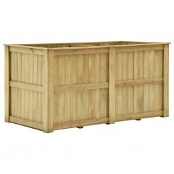stradeXL Podniesiona donica, 196x100x100 cm, impregnowane drewno sosnowe