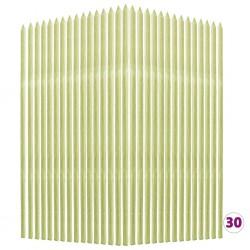 stradeXL Tyczki do roślin, 30 szt., 2,8x2,8x150 cm, drewno sosnowe