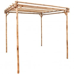 stradeXL Pergola bambusowa, 170x170x220 cm