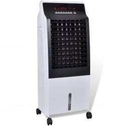 stradeXL Przenośny klimatyzator, oczyszczacz i nawilżacz powietrza, 8 L