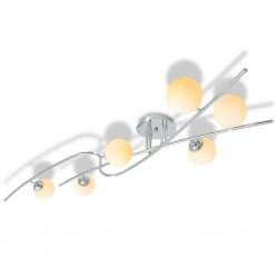 stradeXL Lampa sufitowa na 6 żarówek LED G9 240 W