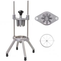 stradeXL Fruit/Vegetable Wedger Stainless Steel Cast Aluminium 1 Cutter