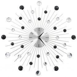 stradeXL Zegar ścienny z mechanizmem kwarcowym, nowoczesny design, 50 cm