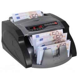 stradeXL Liczarka do banknotów, czarno-szara