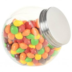 stradeXL Candy Jars 6 pcs 10.5x8x10.3 cm 480 ml