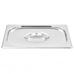 Lids for GN 1/2 Pan 2 pcs Stainless Steel