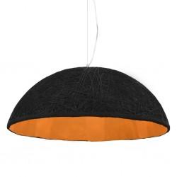 stradeXL Lampa wisząca, czarno-złota, Ø 70 cm, E27