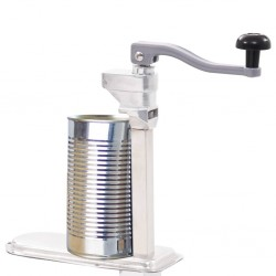 stradeXL Canned Food Can Opener Silver 70cm Aluminum and Stainless Steel