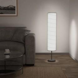 stradeXL Lampa podłogowa na stojaku, 121 cm, biała, E27
