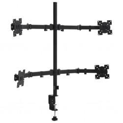 "stradeXL 4 Arm Monitor Desk Mount Stand 13""-23"""