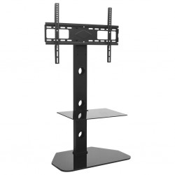 "stradeXL Swivel TV Floor Stand Mount 32""-70"" with Shelf"