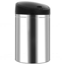 stradeXL Automatic Sensor Dustbin Garbage Bin 32 L Stainless Steel