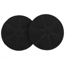 stradeXL Filtry węglowe do okapu, 2 szt., 175x30 mm