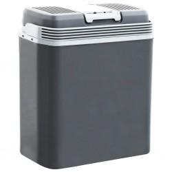 stradeXL Przenośna chłodziarka termoelektryczna, 24 L, 12 V, 230 V, A+++