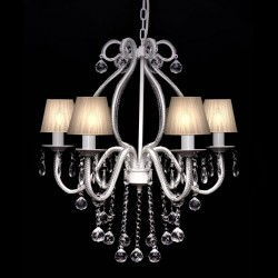 Chandelier with 2300 Crystals White