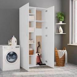 stradeXL Szafa, biała, 80 x 35,5 x 180 cm, płyta wiórowa