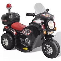 Motocykl zasilany na baterie (czarny)