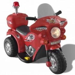 Motocykl zasilany na baterię (czerwony)