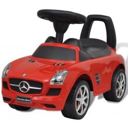 Mercedes Benz - samochód zabawka dla dzieci napędzany nogami czerwony