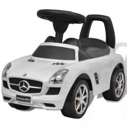 stradeXL Mercedes Benz Foot-Powered Kids Car White