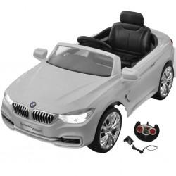 BMW - samochód zabawka dla dzieci na baterie z pilotem biały