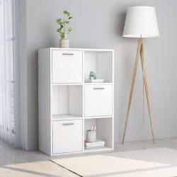 stradeXL Szafka, biała, 60x29,5x90 cm, płyta wiórowa
