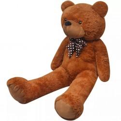 stradeXL Pluszowy miś przytulanka, brązowy, 170 cm
