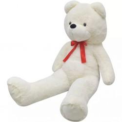 stradeXL Pluszowy miś przytulanka, biały, 170 cm