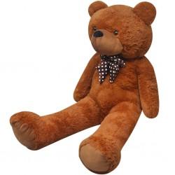 stradeXL Teddy Bear Cuddly Toy Plush Brown 242 cm