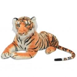 stradeXL Tiger Toy Plush Brown XXL