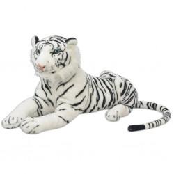 80164 stradeXL Tiger Toy Plush White XXL - Untranslated