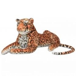stradeXL Pluszowy leopard XXL brązowy