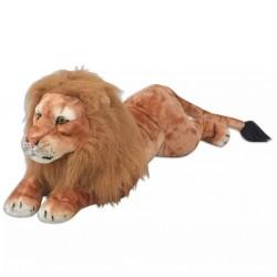stradeXL Lion Toy Plush Brown XXL