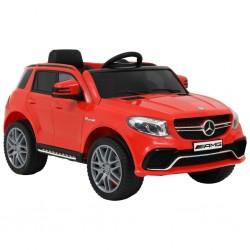 stradeXL Samochód dla dzieci Mercedes Benz GLE63S, plastikowy, czerwony