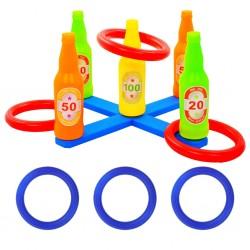 stradeXL Kids' Ring Toss Game Set 42x42x23.5 cm