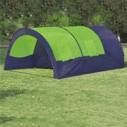 stradeXL Namiot turystyczny 6-osobowy, niebiesko-zielony