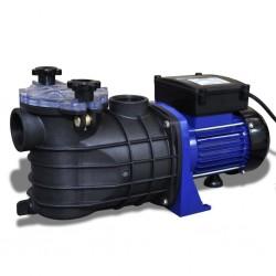 stradeXL Elektryczna pompa basenowa, 500 W, niebieska