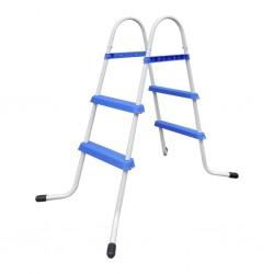 Steel Frame Pool Ladder Non-Slip Steps 86,5 cm