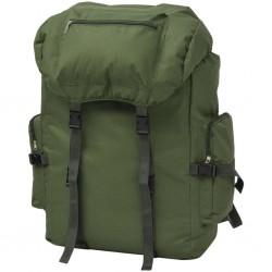 stradeXL Plecak w wojskowym stylu, 65 L, zielony