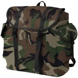 stradeXL Plecak w wojskowym stylu, 40 L, moro