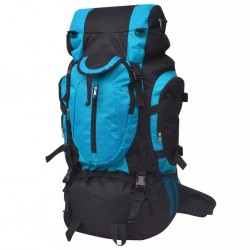 stradeXL Plecak turystyczny XXL, 75 L, czarno-niebieski