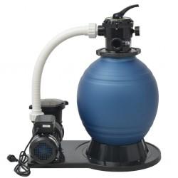stradeXL Pompa z filtrem piaskowym, 1000 W, 16800 L/h, XL