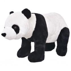 stradeXL Pluszowa panda, stojąca, czarno-biała, XXL