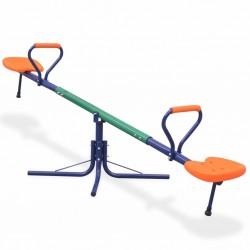 stradeXL 360-Degree Rotating Seesaw Orange