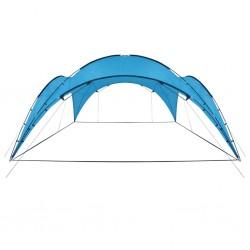 stradeXL Namiot imprezowy, łuk, 450x450x265 cm, jasnoniebieski