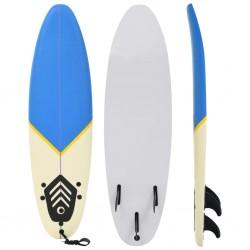 stradeXL Deska surfingowa, 170 cm, niebiesko-kremowa