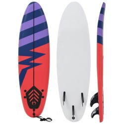 stradeXL Deska surfingowa Stripe, 170 cm